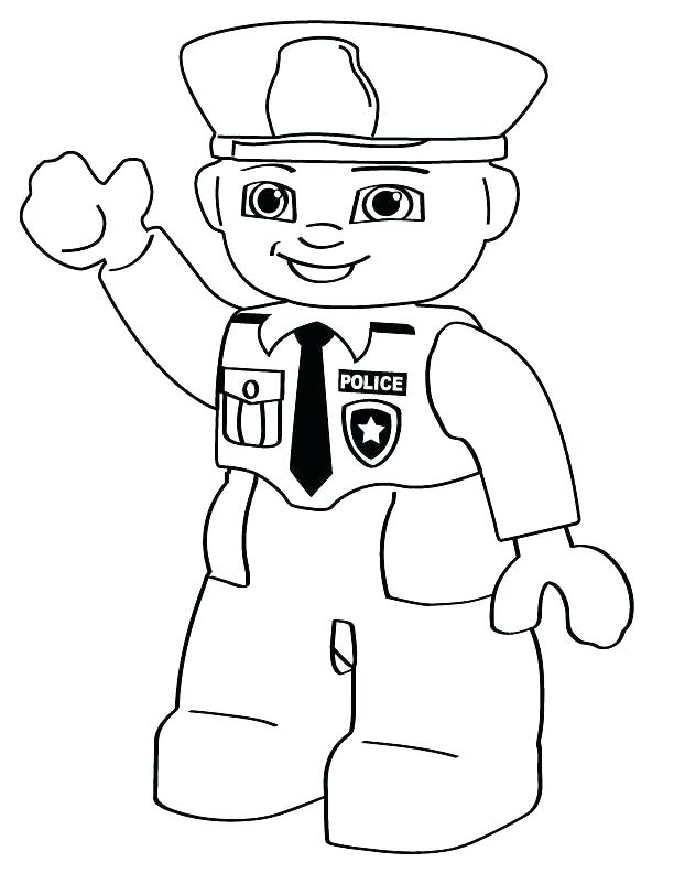 612x792 Police Badge Coloring Page Police Officer Badge Coloring Page