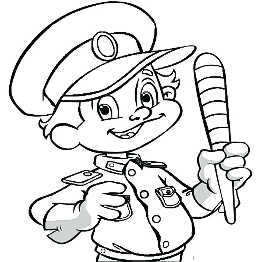 900x900 Coloring Pages Police Officer Coloring Pages Badges Police