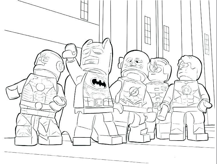 759x574 Lego Coloring Page Superhero Coloring Pages Coloring Pages