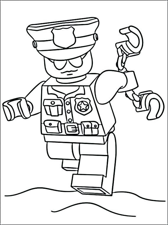 568x758 Policeman Coloring Page Policeman Coloring Pages Lego Police