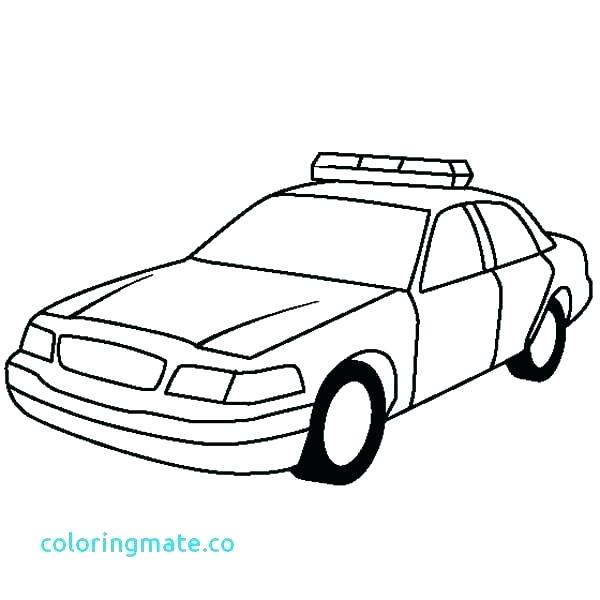600x600 Coloring Pages Of Police Cars