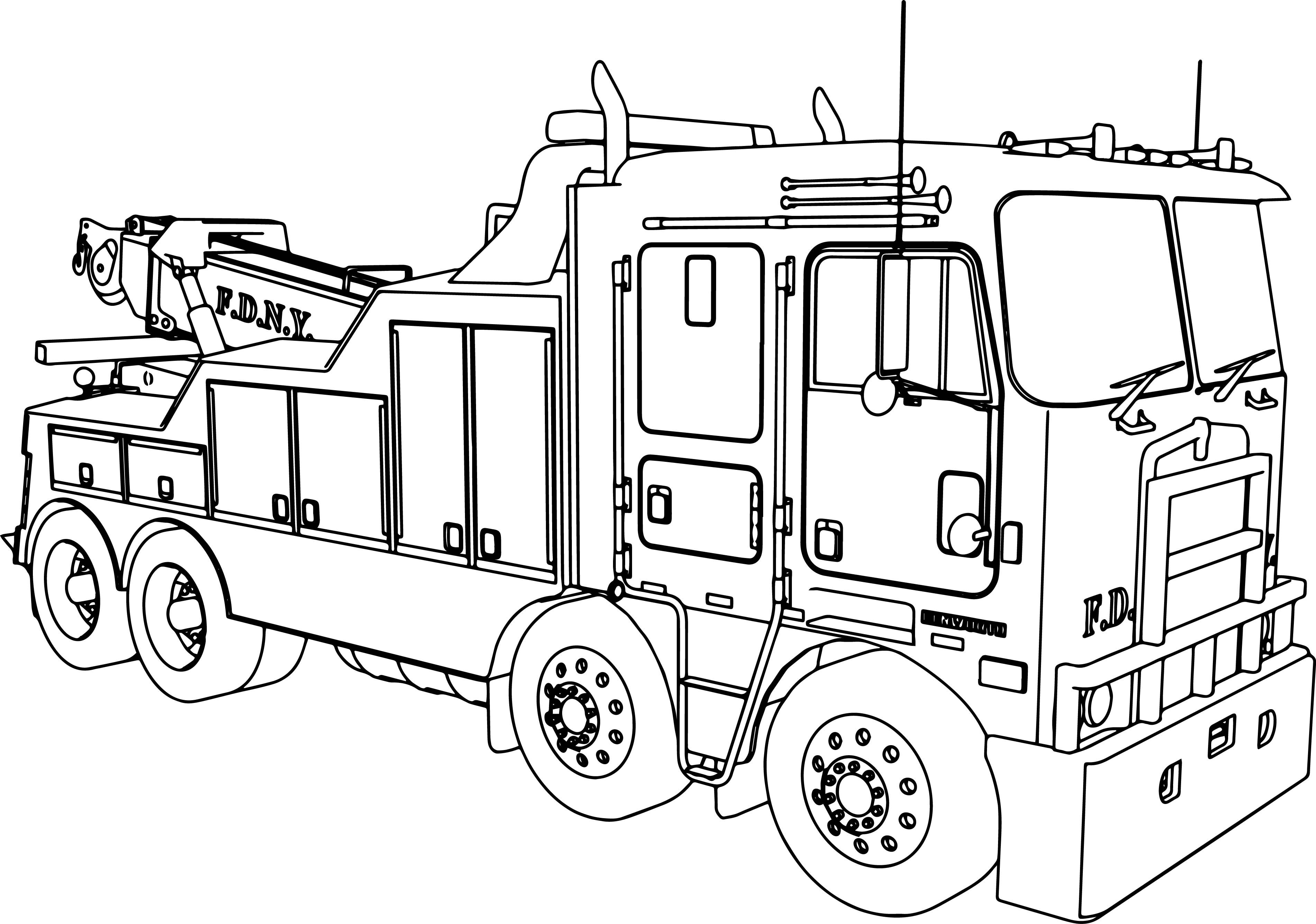 Police Truck Coloring Pages at GetDrawings | Free download