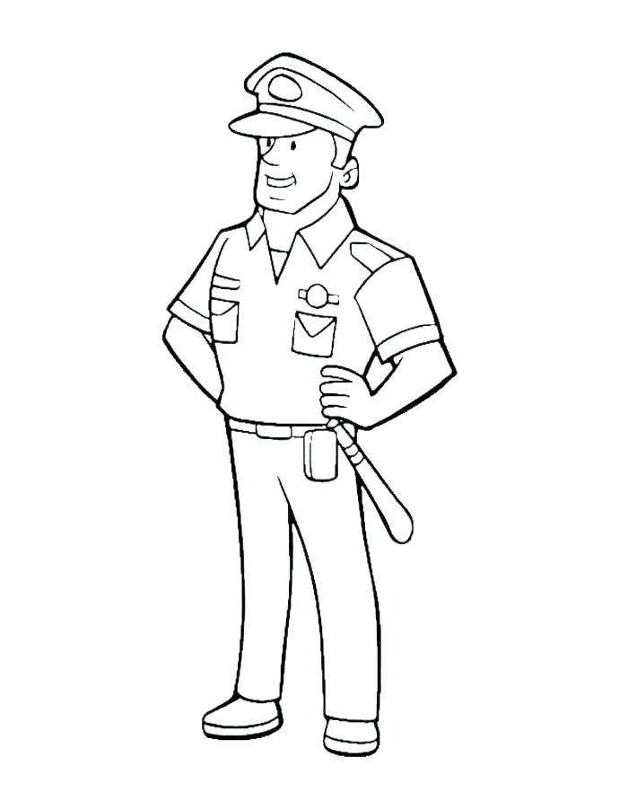 700x892 Police Officer Coloring Page New Police Officer Coloring Page