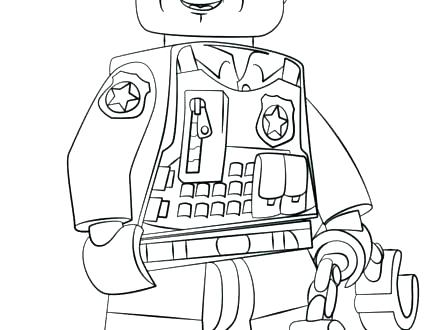 440x330 Police Officer Coloring Pages Police Officer Coloring Pages Woman