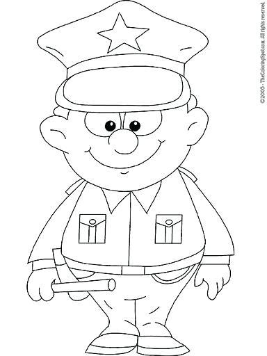 384x512 Oficial De Policia Para Colorear Police Woman Coloring Page Google