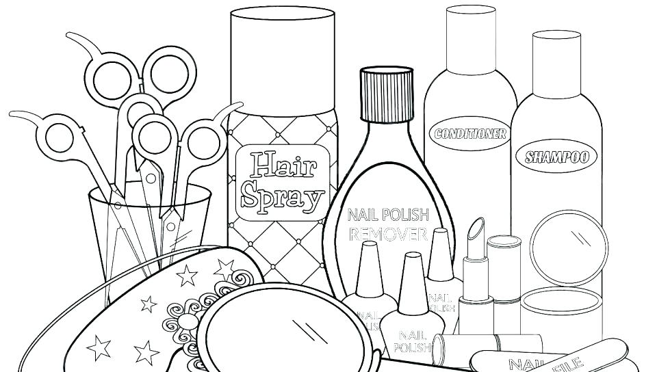 960x544 Art Coloring Pages Makeup Coloring Pages Polish Coloring Pages