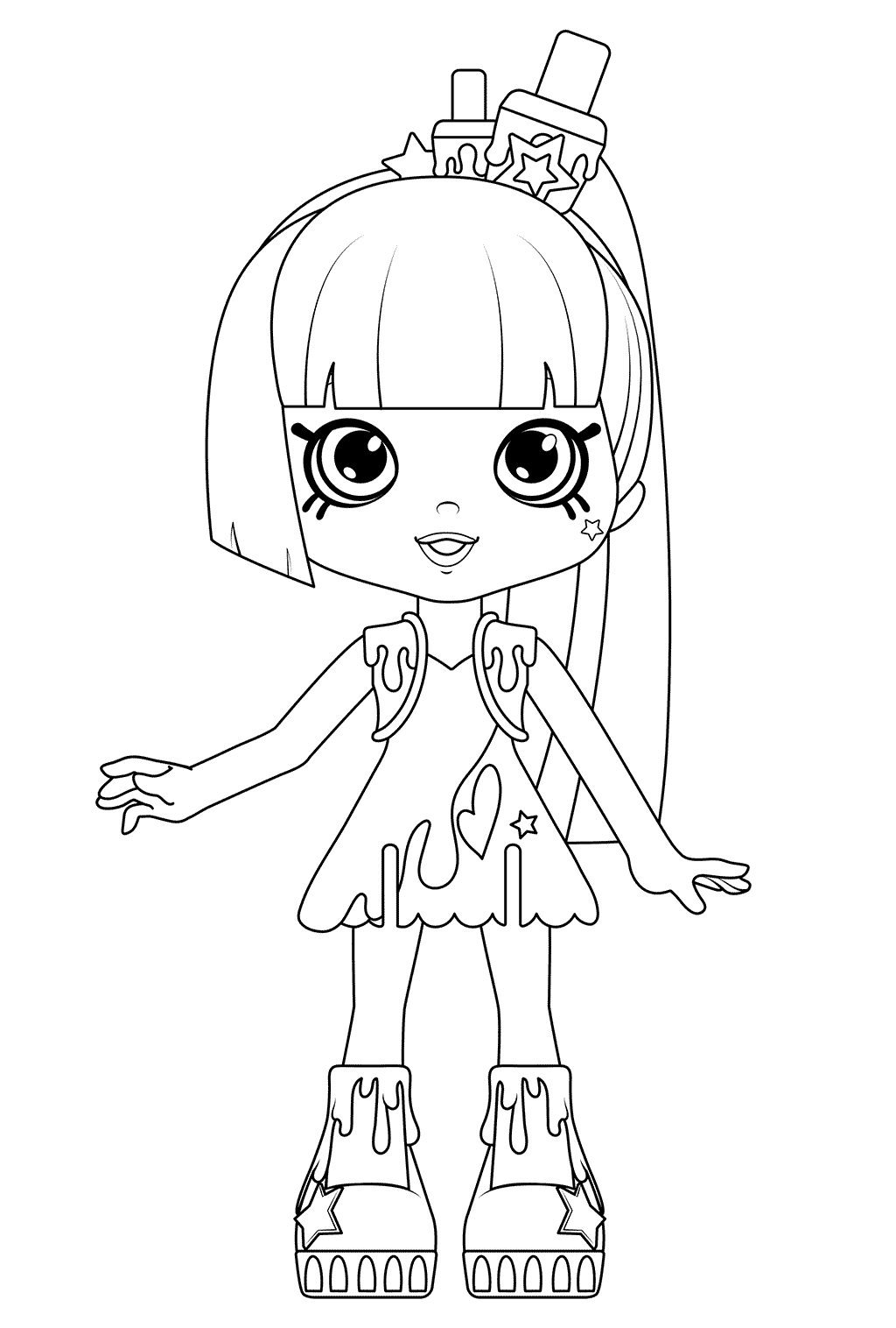 1024x1516 Polli Polish Coloring Page From Season Happy Places