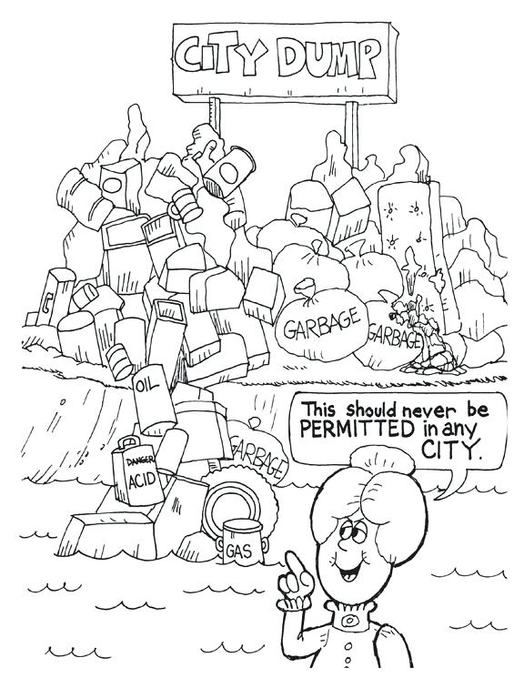 576x745 Land And Water Coloring Page Coloring Pages Land And Water Forms