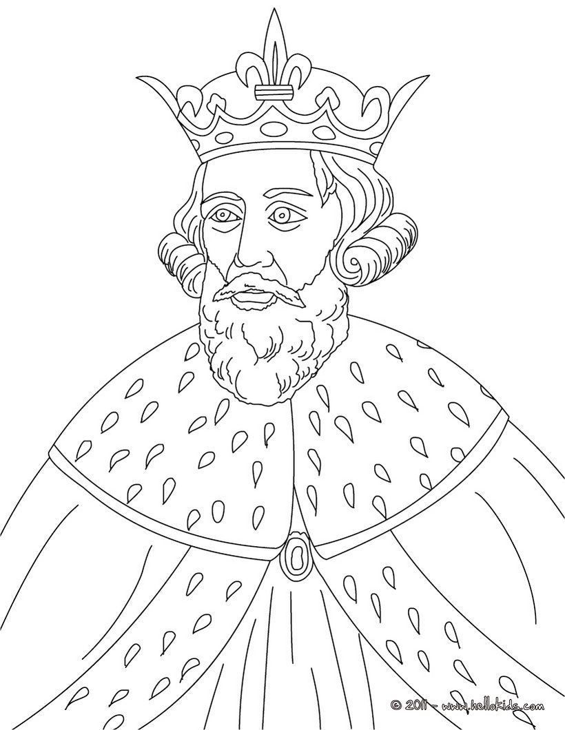 820x1060 King Alfred The Great Coloring Page Coloring Pages