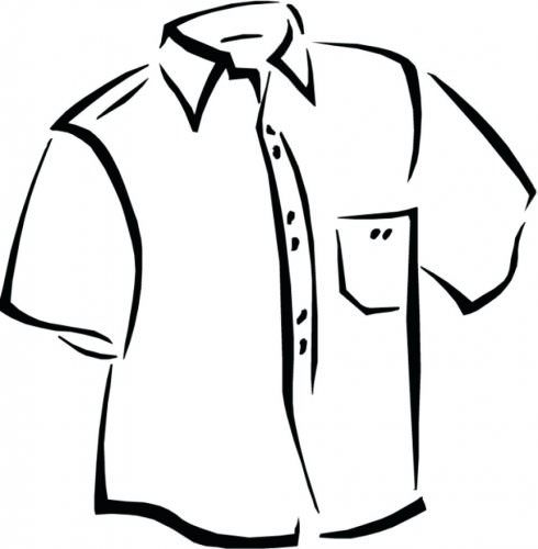 490x500 Polo Shirt Coloring Pages