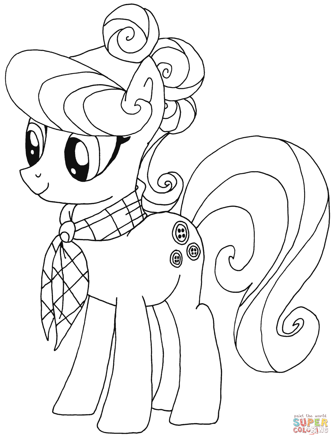 1106x1456 Suri Polomare From My Little Pony Coloring Page