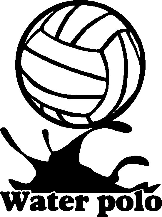 551x739 Water Polo Clipart Free
