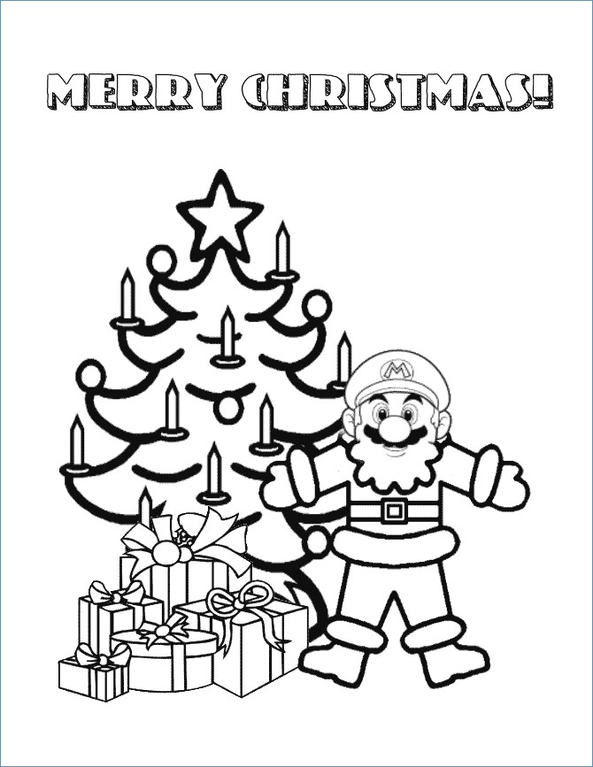 670x867 Wii Super Mario Galaxy Coloring Pages