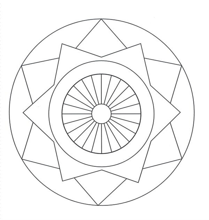 690x727 Advanced Coloring Pages The Sun Flower Pages