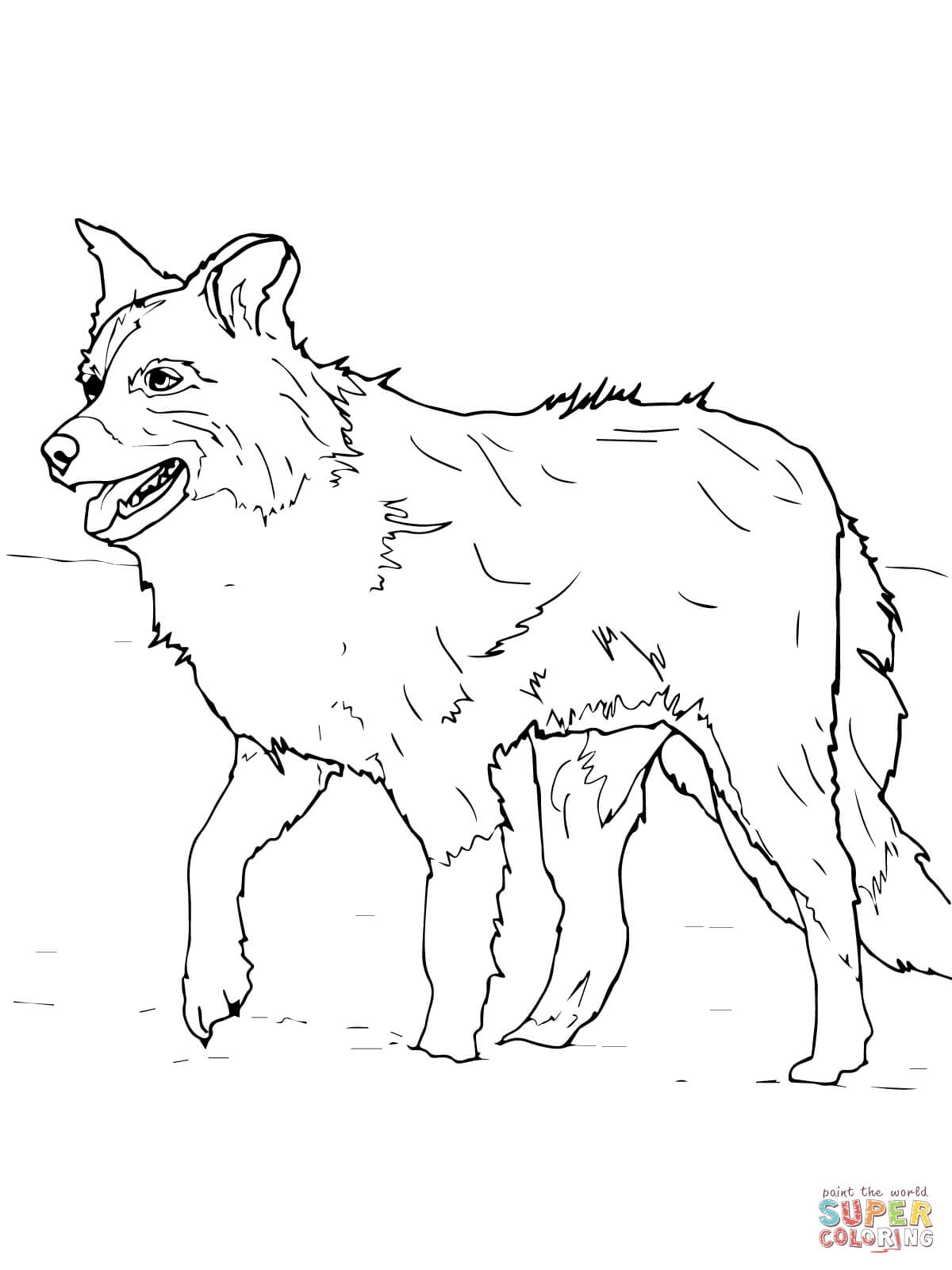 The best free Pomeranian coloring page images. Download from ...