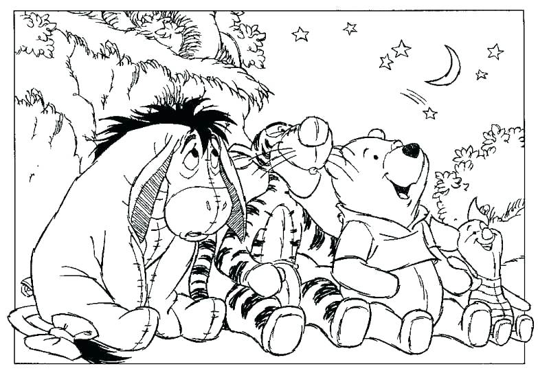 Pooh Coloring Pages at GetDrawings.com | Free for personal ...