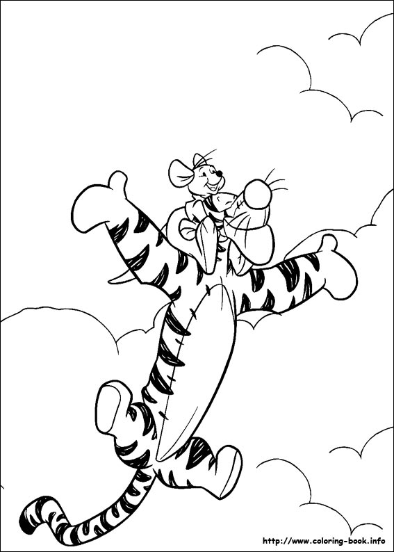 567x794 Winnie The Pooh Coloring Pages On Coloring