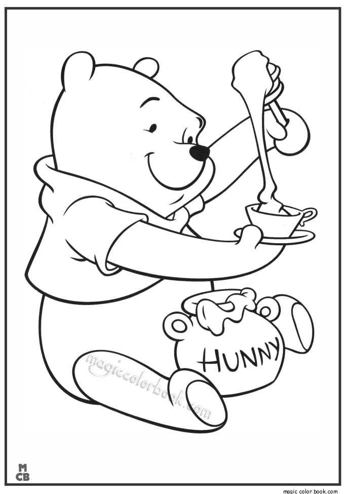 685x975 Winnie The Pooh Coloring Pages