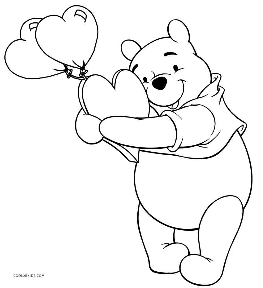 850x929 Free Printable Winnie The Pooh Coloring Pages For Kids