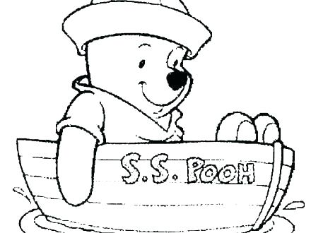 440x330 Pooh Bear Colouring Pages Online Pooh Bear Coloring Pages Baby