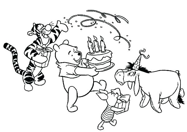 600x426 Pooh Bear Colouring Pages Online Pooh Bear Coloring Pages Online