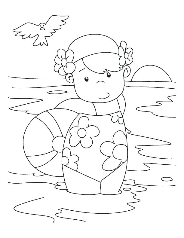 612x792 Pool Coloring Pages Swimming Pool Coloring Page Best Shots