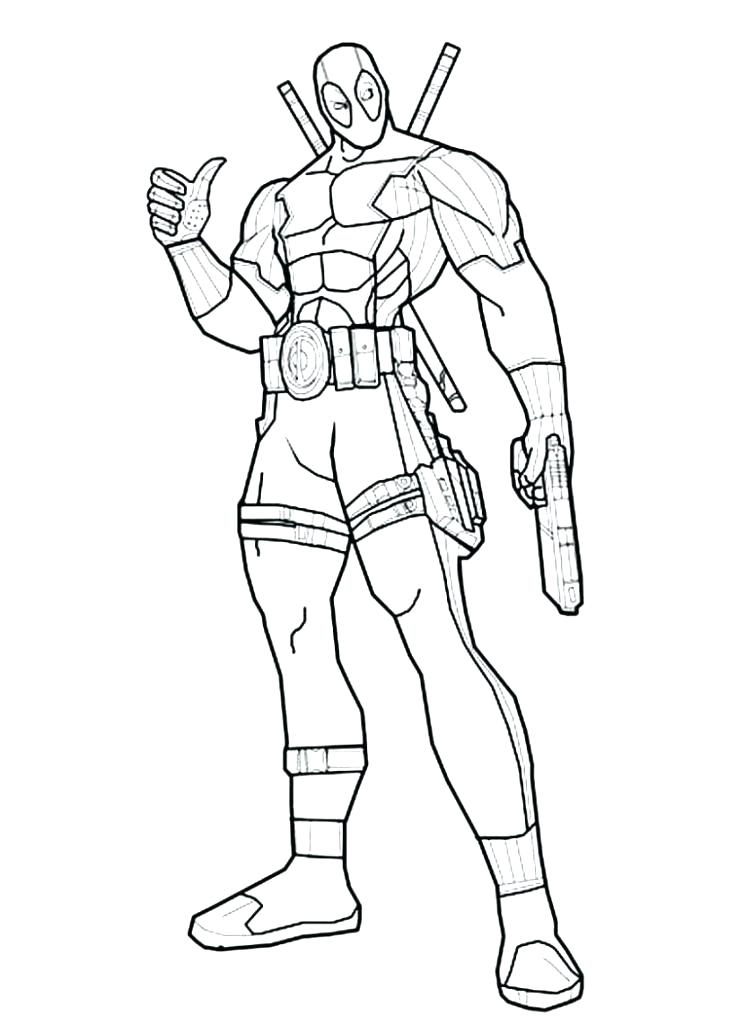 745x1024 Pool Colouring Page Swimming Pool Coloring Page Deadpool