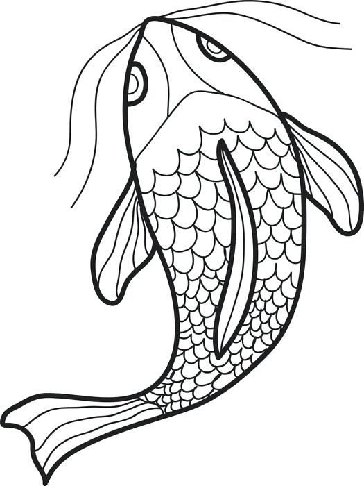 525x700 Swimming Coloring Pages Swimming Fish Coloring Page Swimming Pool