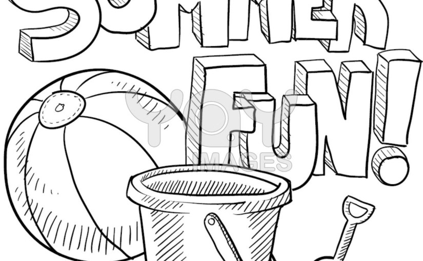 825x510 Pool Party Coloring Pages Summer Season Coloring Pages Part