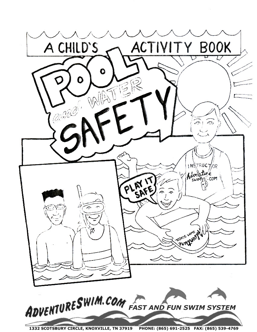 850x1100 Summer Pool Coloring Pages Download And Print For Free
