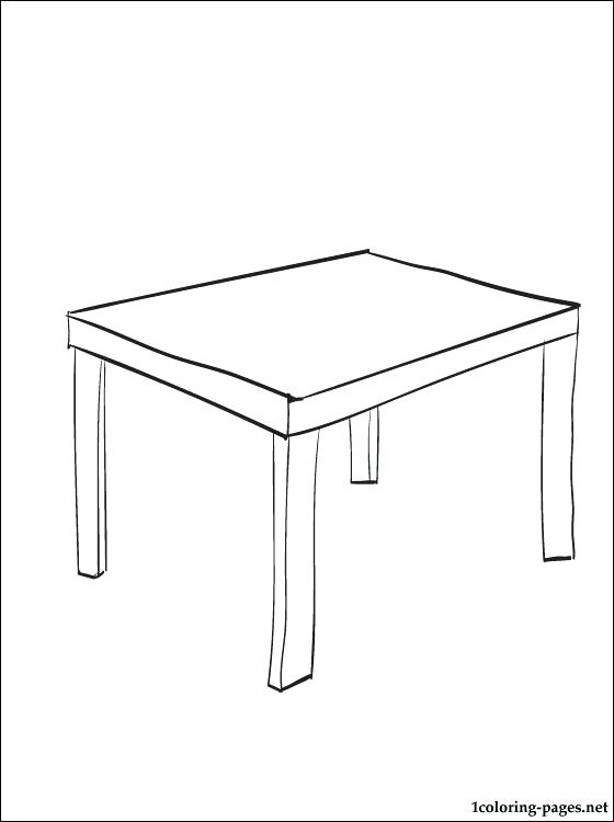 560x750 Table Coloring Page For With Table Coloring Page Pool Table