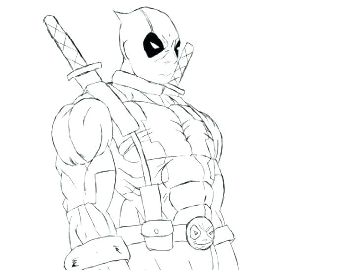 730x547 Dead Pool Coloring Pages A Printable Coloring Page Chibi Deadpool