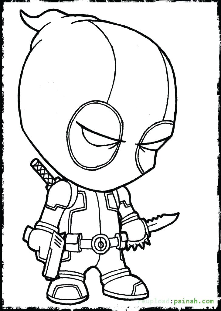 728x1024 Dead Pool Coloring Pages Coloring Pages Chibi Deadpool Coloring