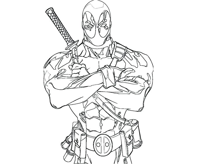 800x667 Dead Pool Coloring Pages Pool Party Coloring Sheets