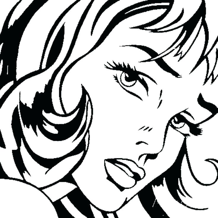 736x736 Pop Art Coloring Pages Inspired Colouring Pages Artist Pop Art