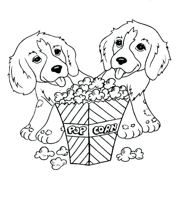 728x778 Inspirational Popcorn Coloring Pages And Pets Printable Popcorn