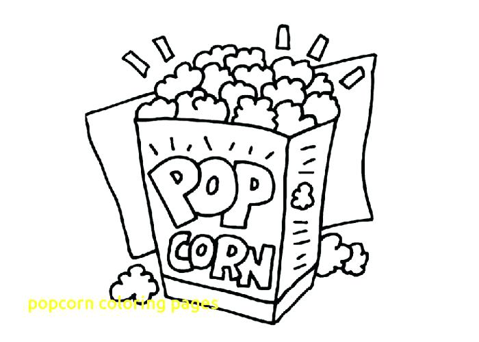 700x500 Popcorn Coloring Pictures Popcorn Coloring Pages With Popcorn