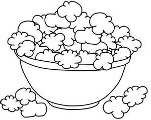 300x239 Printable Popcorn Coloring Pages Sketch Template It's National