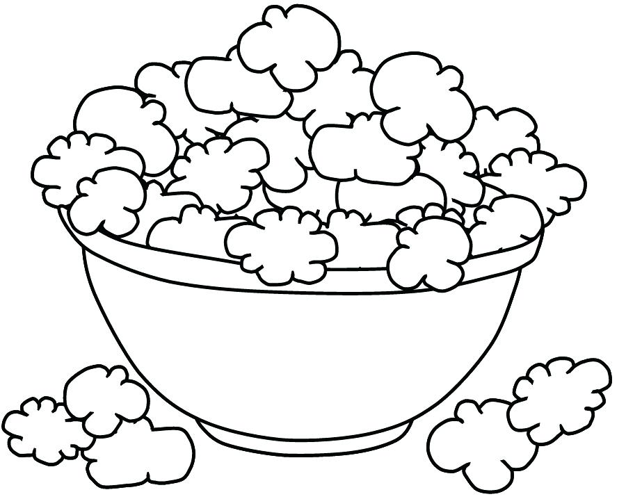 900x718 Full Page Coloring Sheets Popcorn Coloring Pages Coloring Page