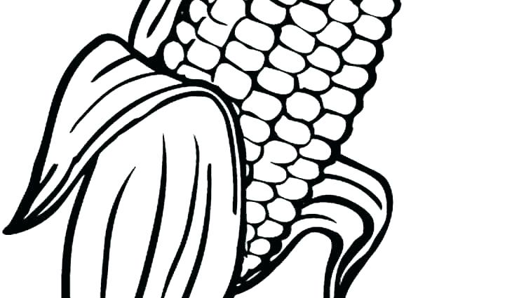 750x425 Corn Coloring Pages Christian Candy Page Printable Best Ideas