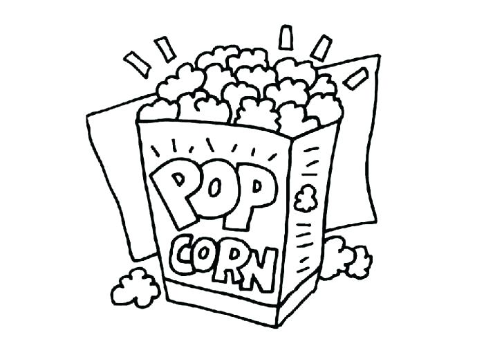 700x500 Coloring Pages Disney Popcorn Kernel Coloring Page Inspiring
