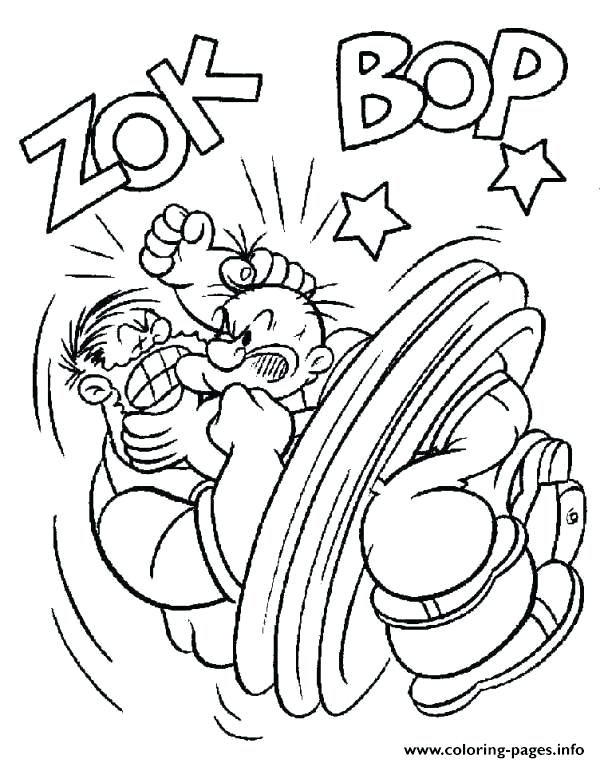 600x763 Popeye Coloring Pages Fighting Coloring Pages Popeye The Sailor