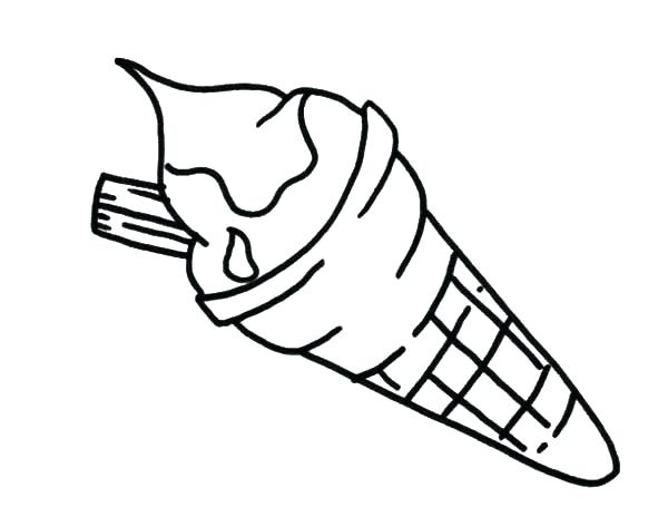 Popsicle Coloring Page At Getdrawings Com Free For Personal Use