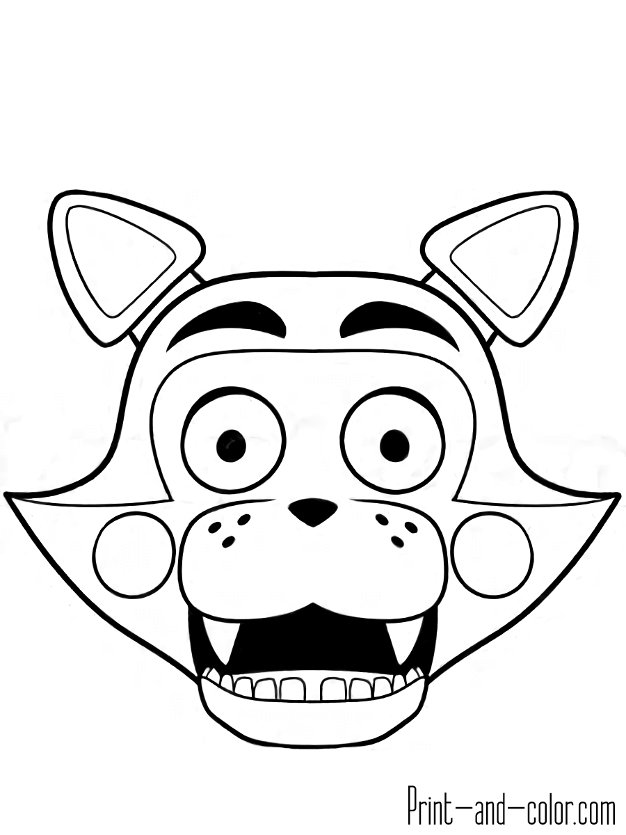 900x1200 Popular Coloring Pages For Five Nights At Freddy S Print And Color