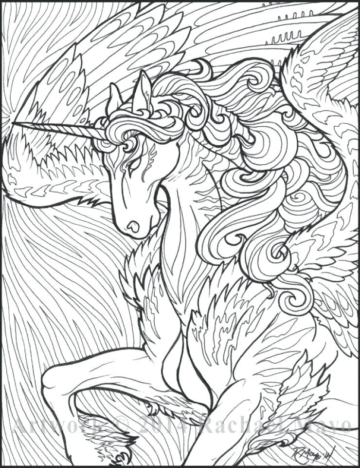 740x960 Popular Coloring Pages Unicorn Coloring Pages For Adults Popular