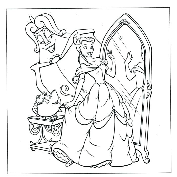 700x700 Princess Belle Coloring Pages Popular Coloring Pages Popular