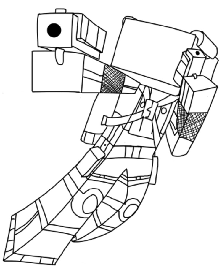 750x923 Minecraft Coloring Pages Popularmmos