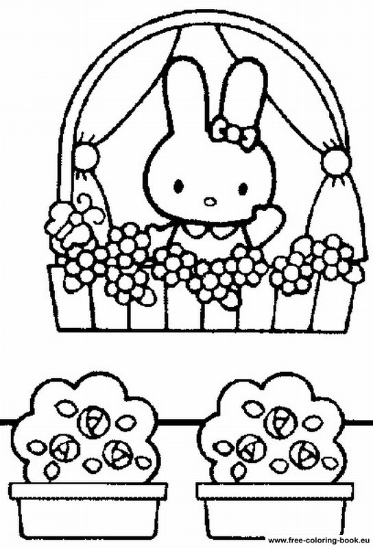 544x800 Coloring Pages Hello Kitty