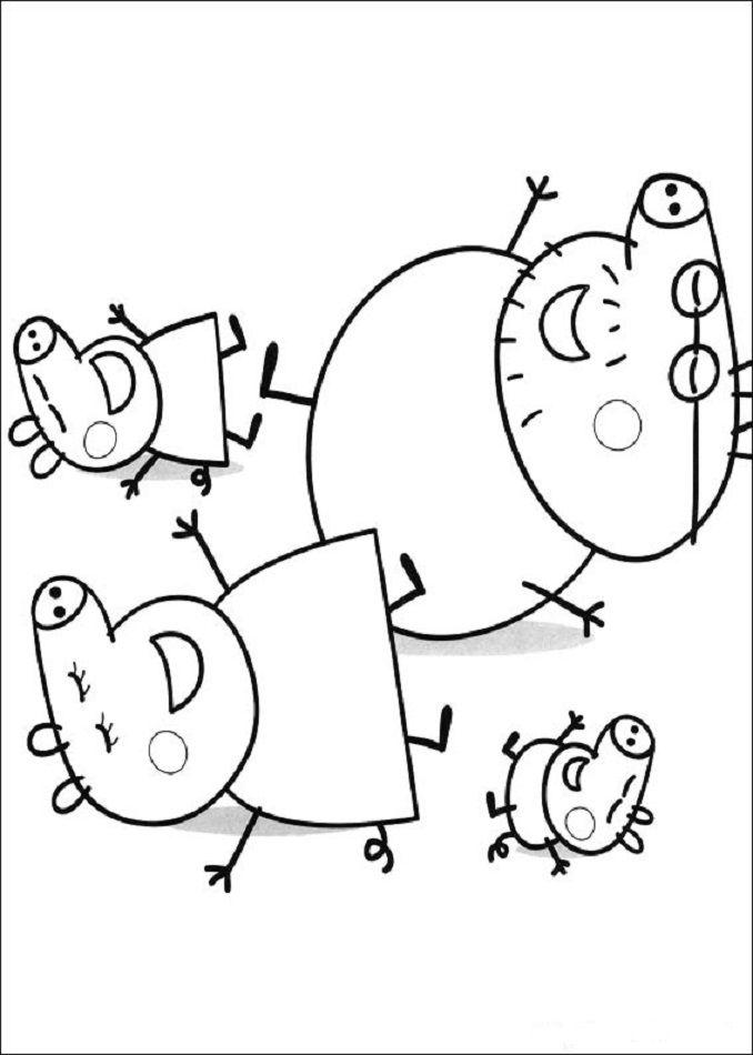 678x950 Peppa Pig Para Imprimir De Imagenes Y Descagables