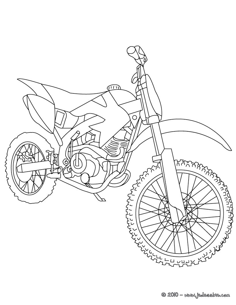 821x1061 Coloriage De Moto Cross Filename Coloring Page